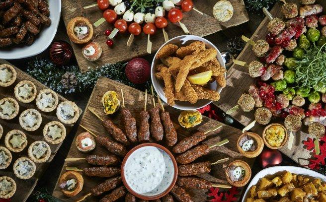 Lavish Christmas Buffet