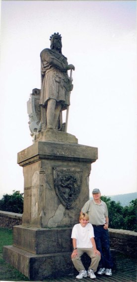 Jody and James William Wallace Statue